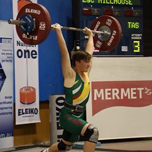Zac Millhouse, 2015 Australian Under 15 Champion, 77 Kg category