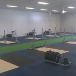 Training area at Weightlifting Academy of Tasmania
