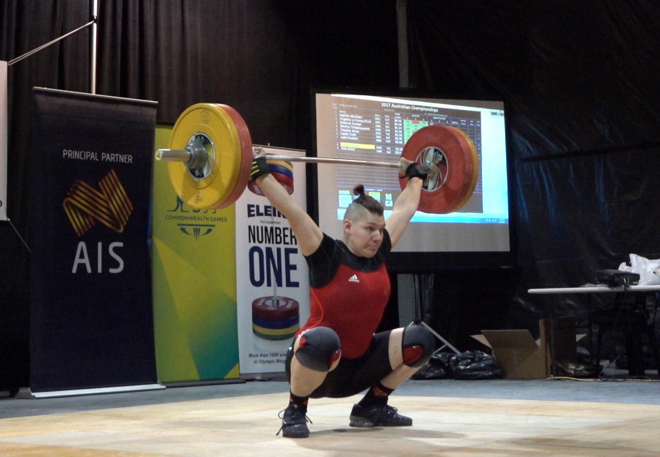 Kaity Fassina, Gold Medallist at 2017 Australian Championships