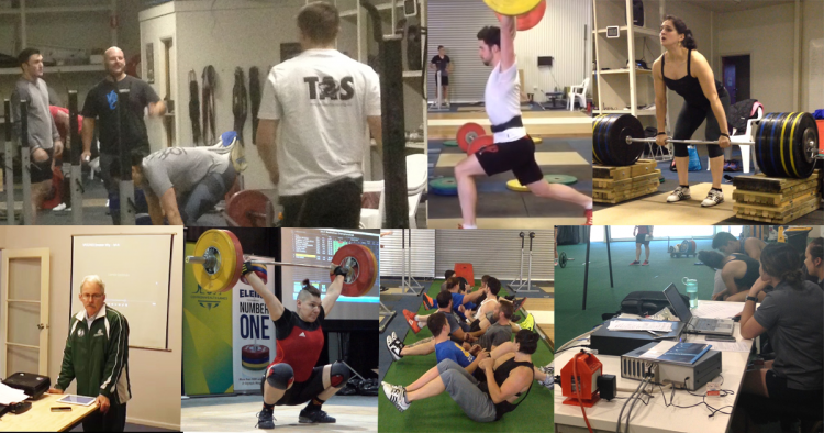 The Weightlifting Academy of Tasmania in action