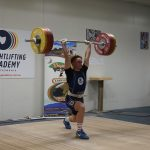 Best lift of the day by Zac Millhouse - 156Kg in the Clean & Jerk