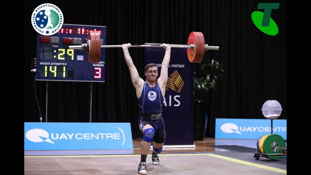 Ben Spinks with 139 Clean & Jerk at Nationals 2019