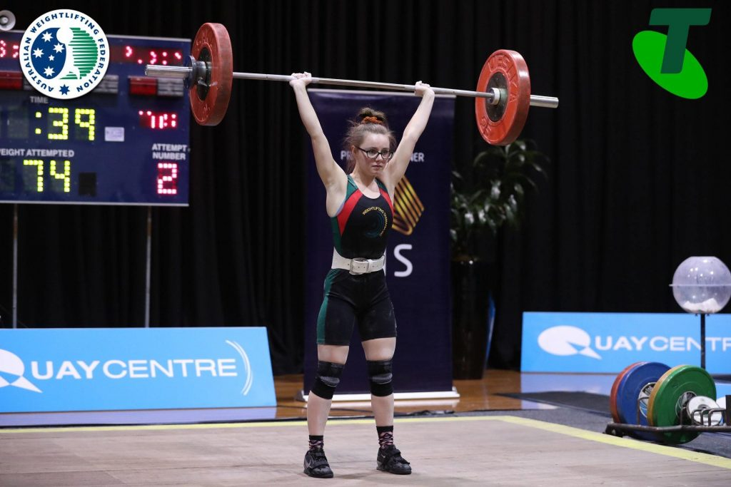 Stephanie Pickrell at Australian U20 and U23 Championships 2019