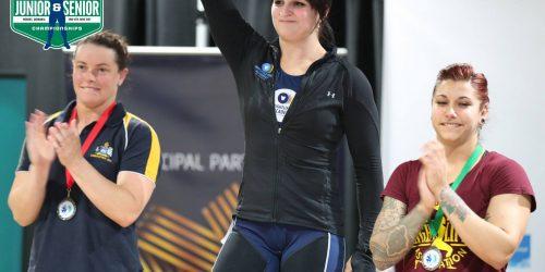 Image of Camilla Fogagnolo at 2017 Australian Weightlifting Championships